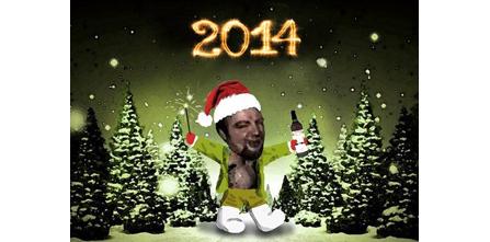 Братишки! С Новым 2014 годом!